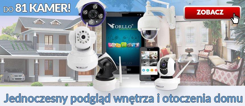 system monitoringu 81 kamer - Orllo.pl