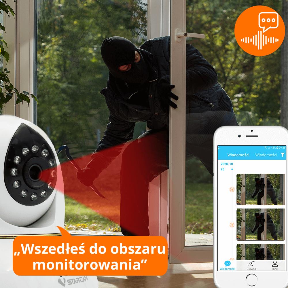 kamera ip wifi ostrzezenia glosowe orllo.pl