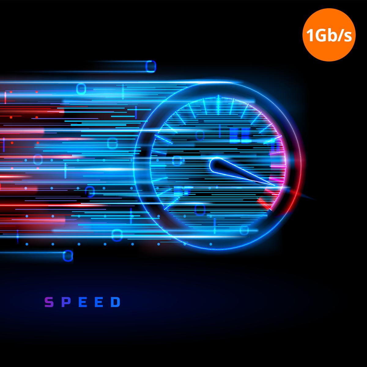 szybkosc przesyłu danych 1gb/s orllo.pl