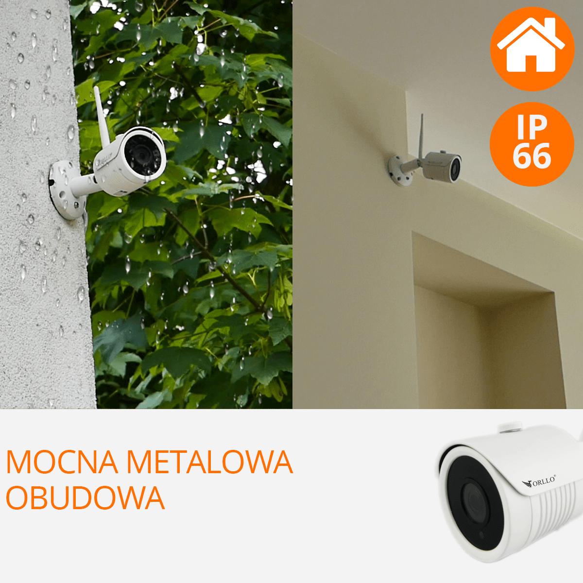 Zestaw do monitoringu wewnetrzna zewnetrzna orllo camset pro orllo.pl