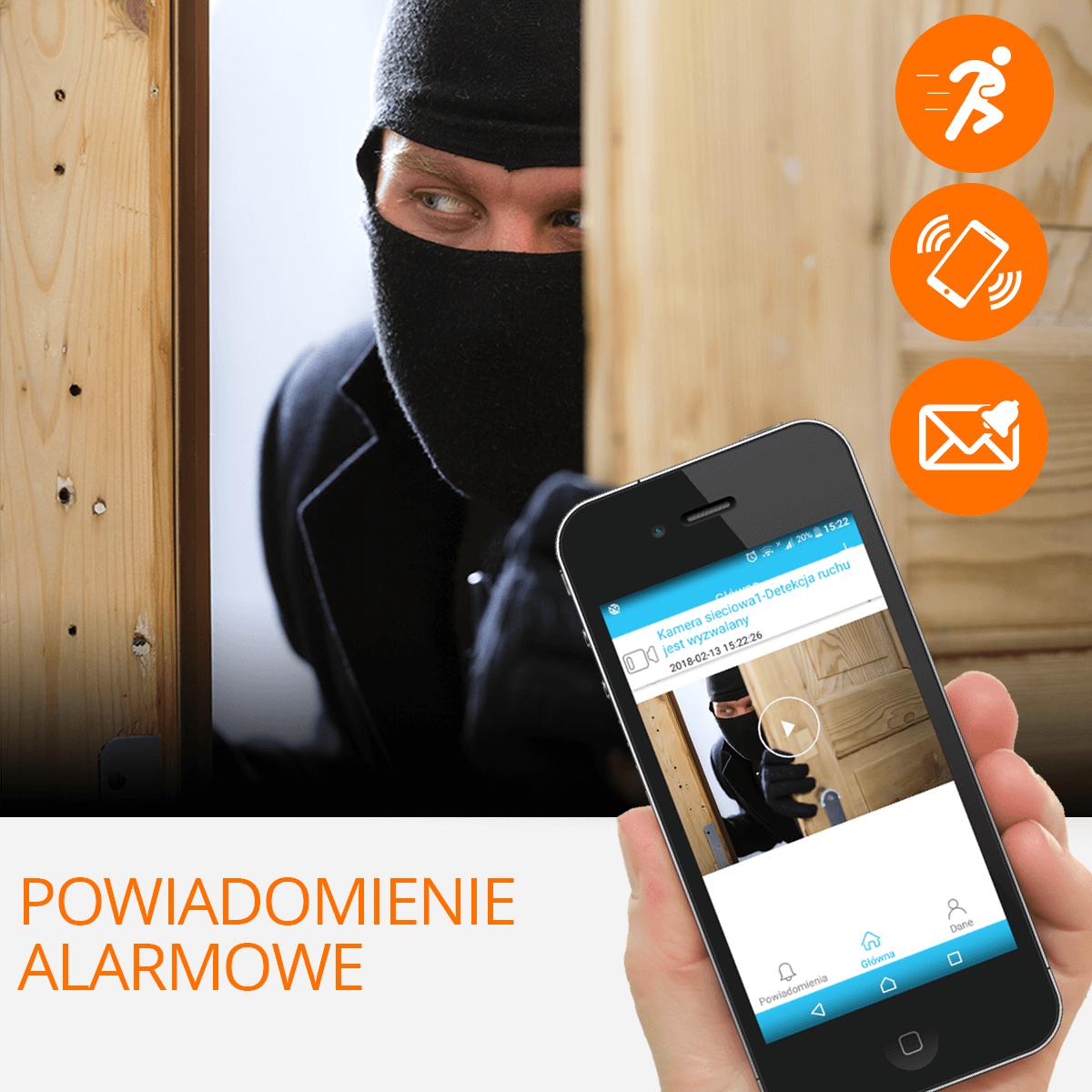 kamera ip wifi  wykrywanie ruchu orllo.pl