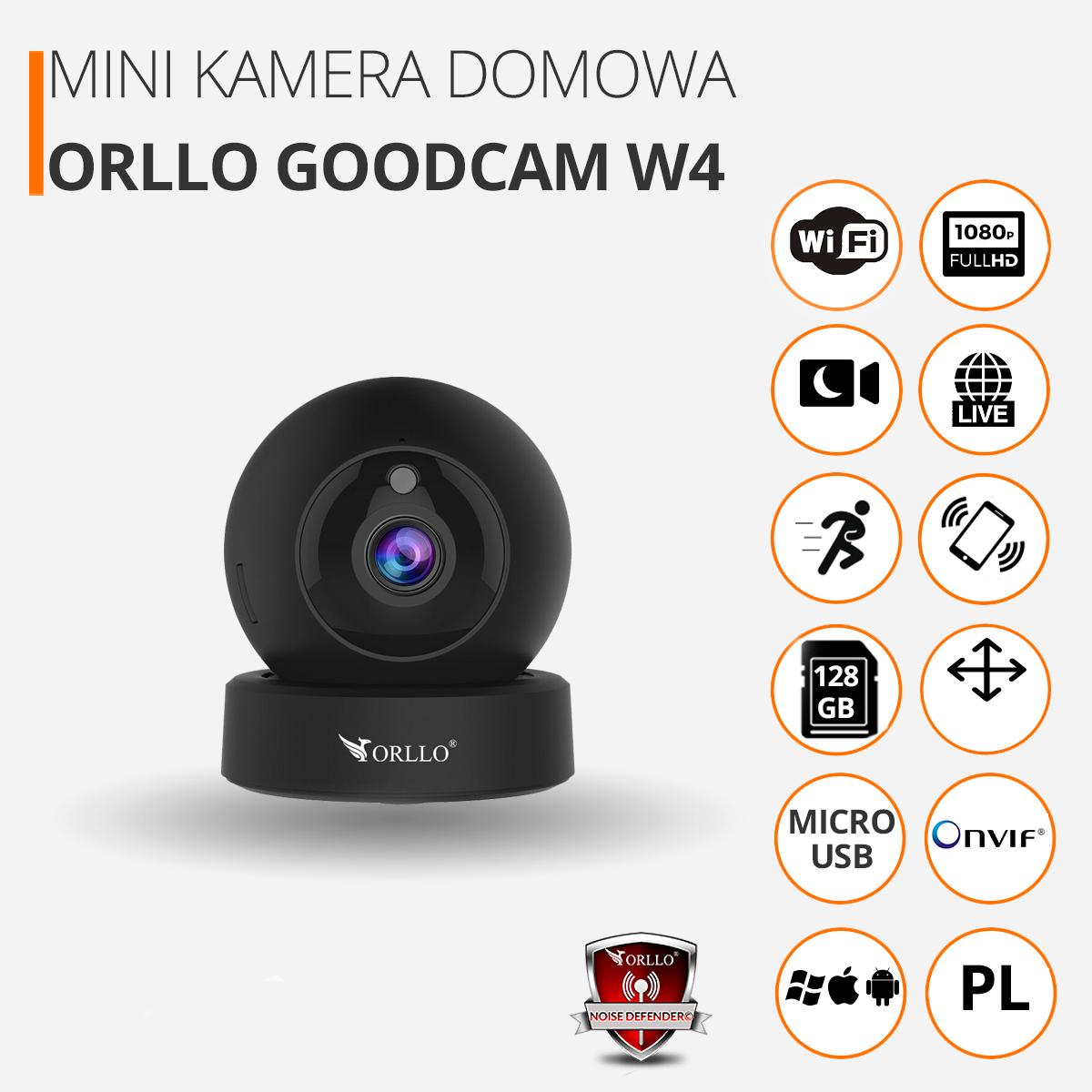 kamera bezprzewodowa domowa full hd orllo.pl