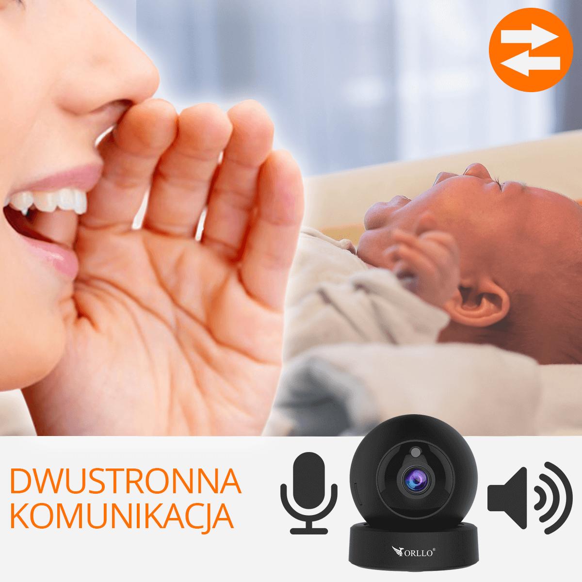 kamera bezprzewodowa ip na podczerwien orllo.pl