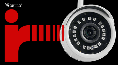 kamera podczerwień do nagrywania w nocy