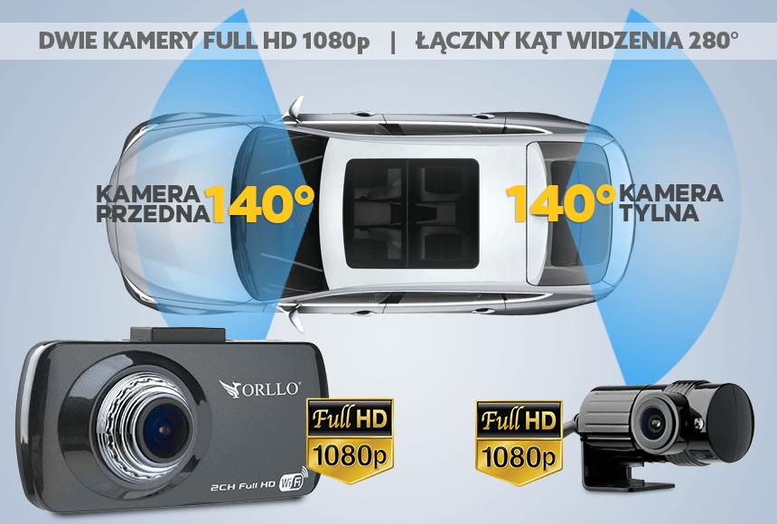 kamera samochodowa full hd dual - orllo.pl