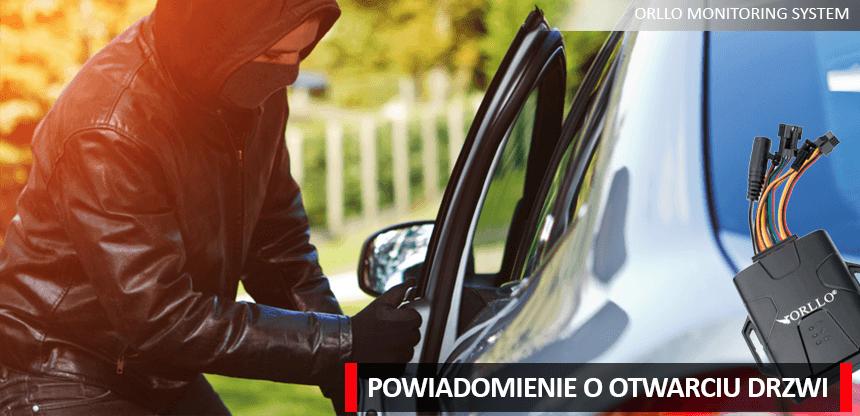 lokalizator z czujnikiem otwarcia drzwi- orllo.pl