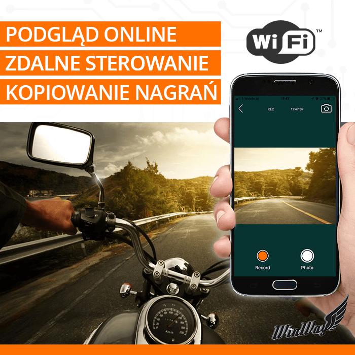 kamera motocyklowa wifi orllo.pl