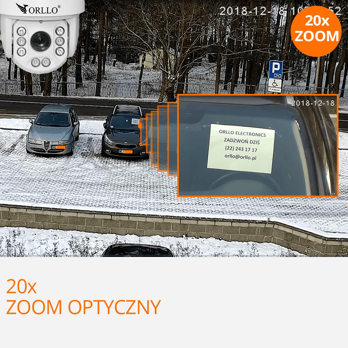 kamera obrotowa z zoom