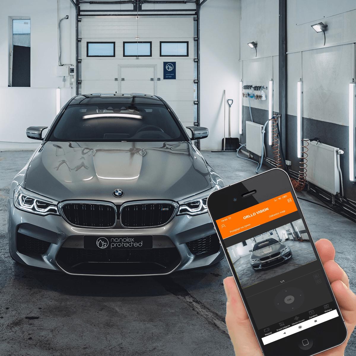 kamera do monitoringu garażu z podglądem orllo.pl