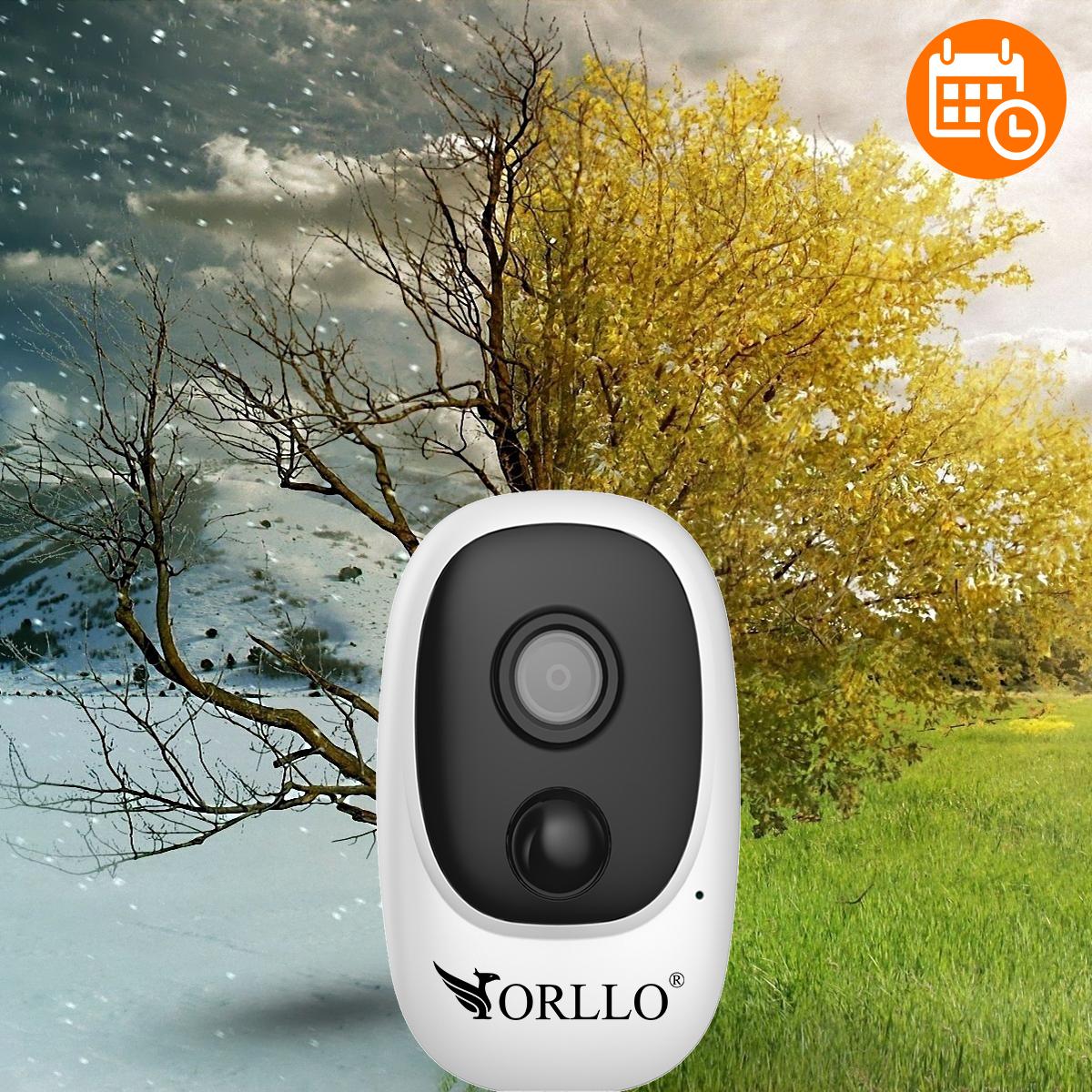 kamera bezprzewodowa na baterie WiFI orllo.pl