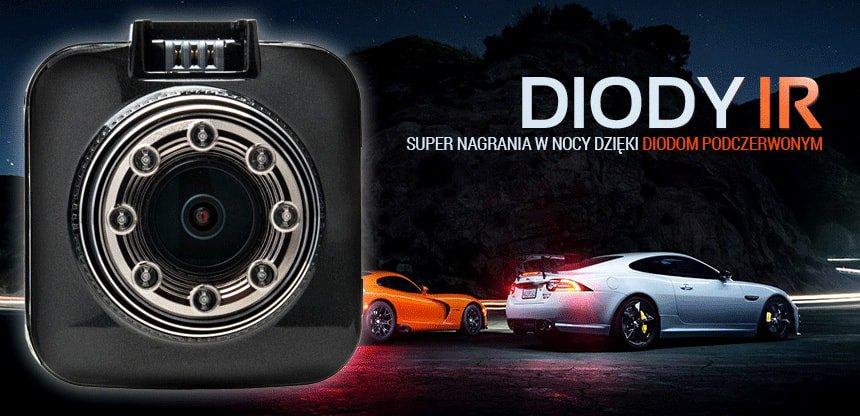 kamera samochodowa z diodami IR - Orllo.pl