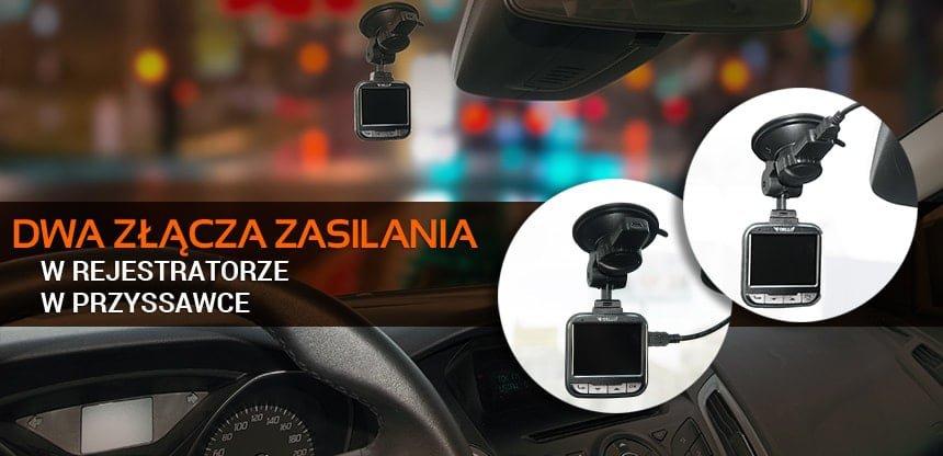 kamera samochodowa z dwoma złączami zasilania - Orllo.pl