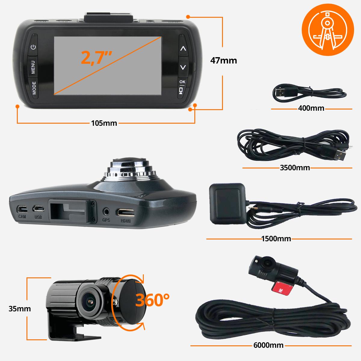 kamera samochodowa specyfikacja orllopl