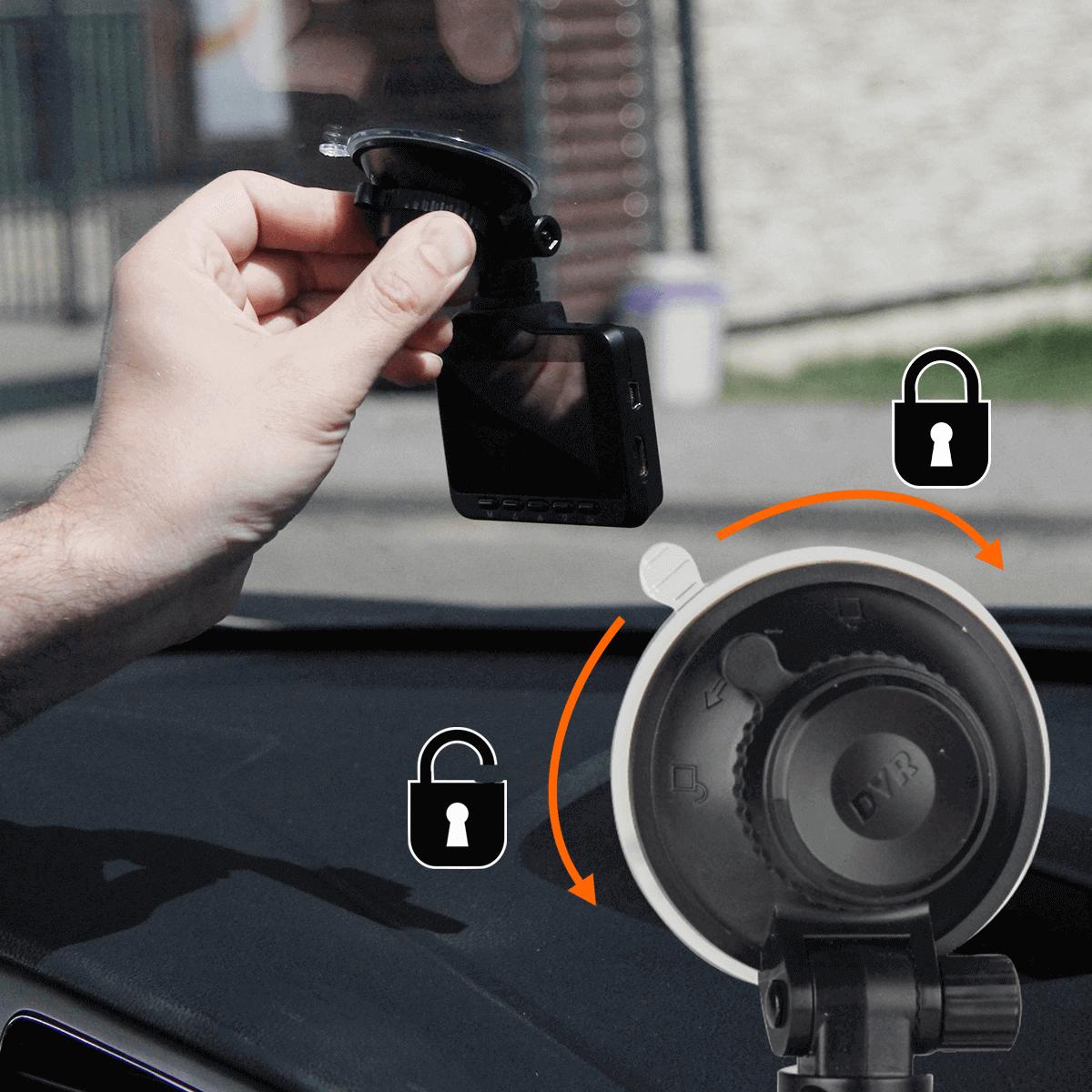 wideo rejestrator z GPS kamera cofania montaz wewnatrz orllo.pl