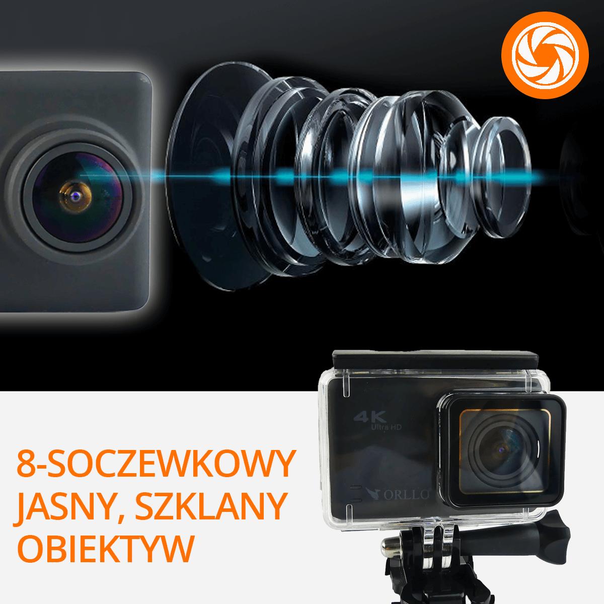 kamera-sportowa-szklany-obiektyw-orllo-pl