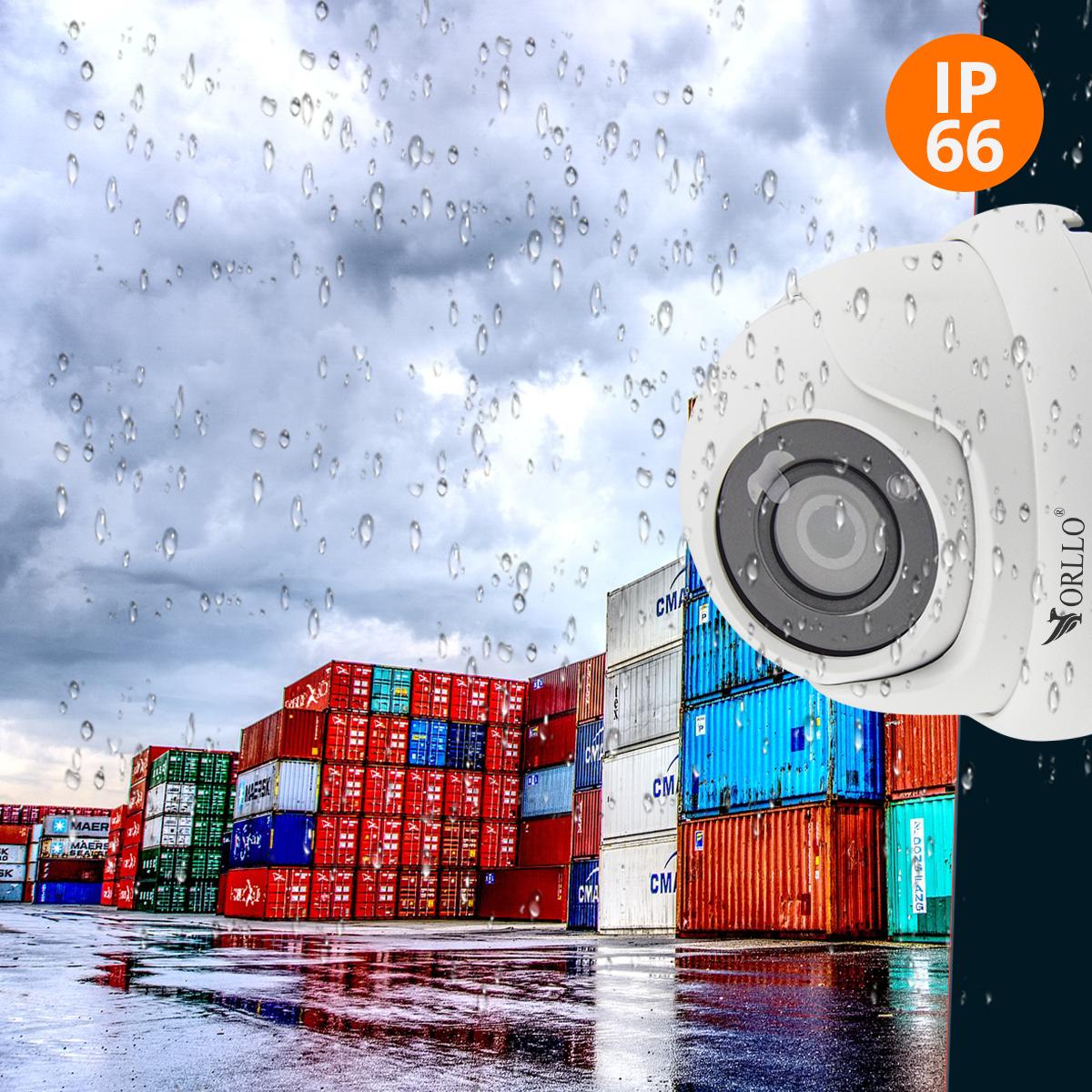 Kamery zewnętrzne wodoodporne IP66 w metalowej obudowie  orllo.pl