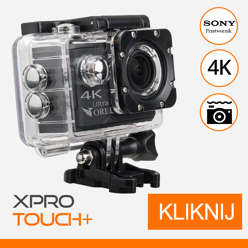 kamerka-sportowa-4k-XPRO-TOUCH -gyrostabilizacja-orllo-pl