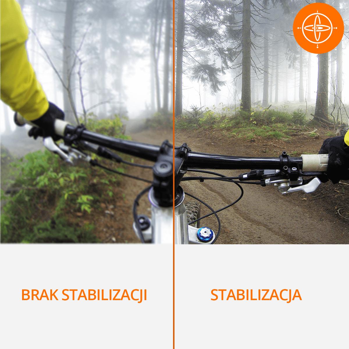 kamera na rower ze stabilizacja obrazu orllo sklep cena