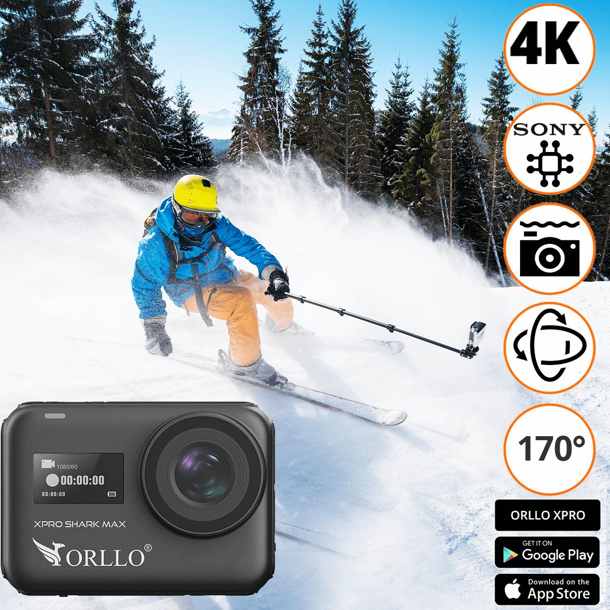 kamera sportowa 4K funkcje xpro shark max orllo.pl