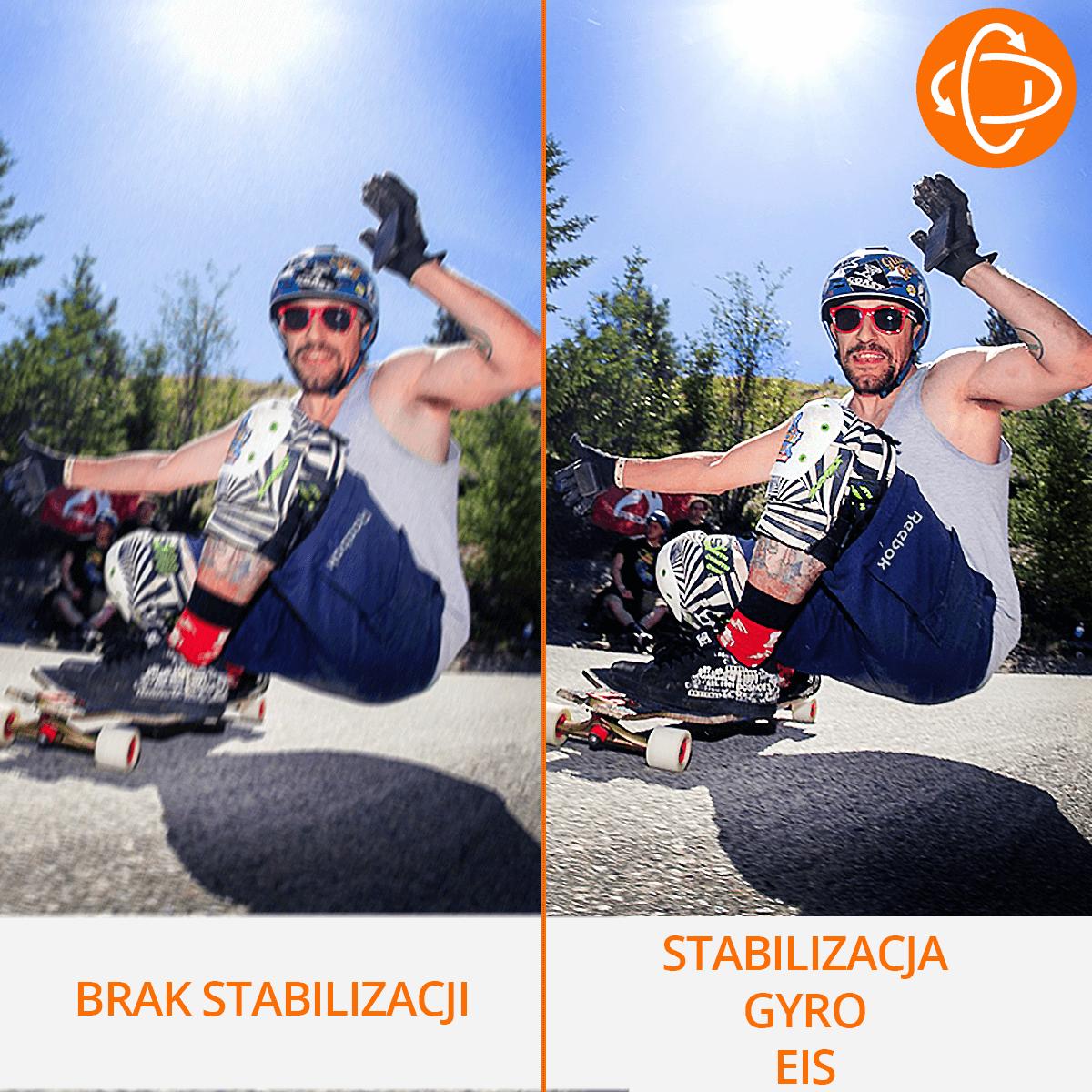 kamera sportowa stabilizacja gyro eis orllo.pl