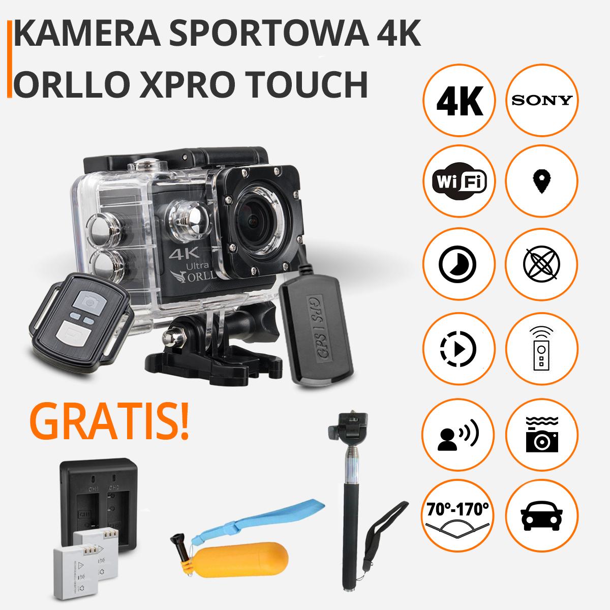 2b2cafc3085e1b Kamera Sportowa 4K na motor Sony Cena Sklep ORLLO.PL