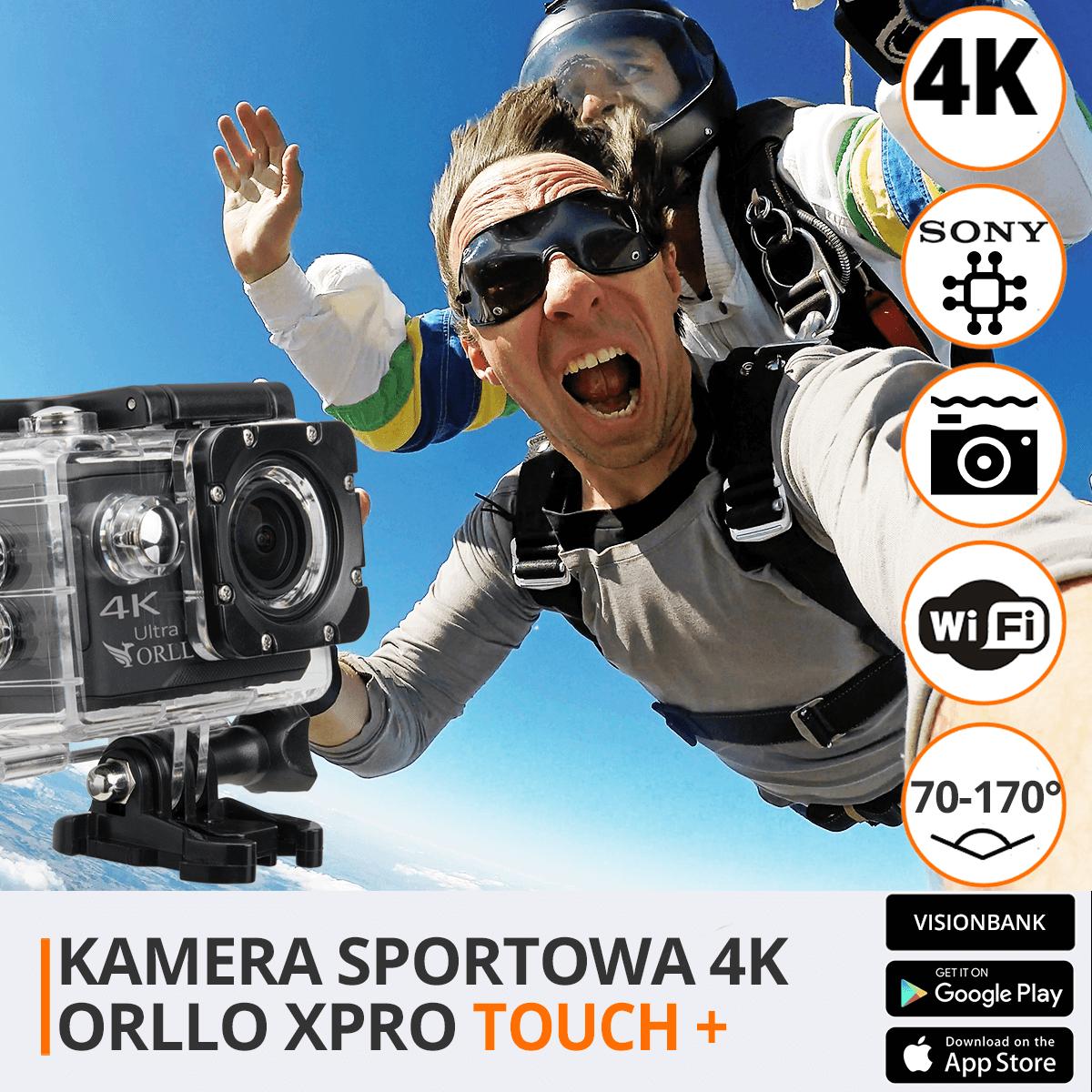 Kamera sportowa xpro touch funkcje orllo.pl