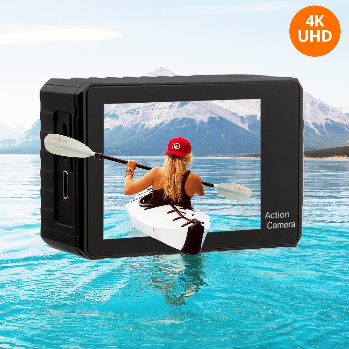 kamera sportowa 4K rozdzielczosc 2160p orllo.pl