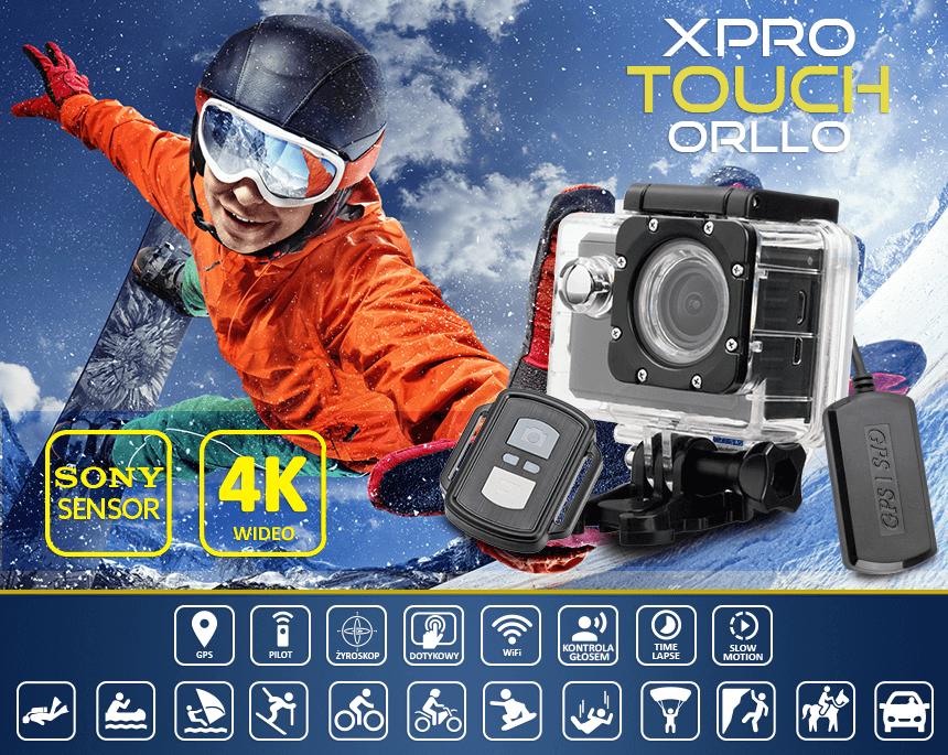 zalety kamery sportowej Xpro z sensorem Sony - orllo.pl