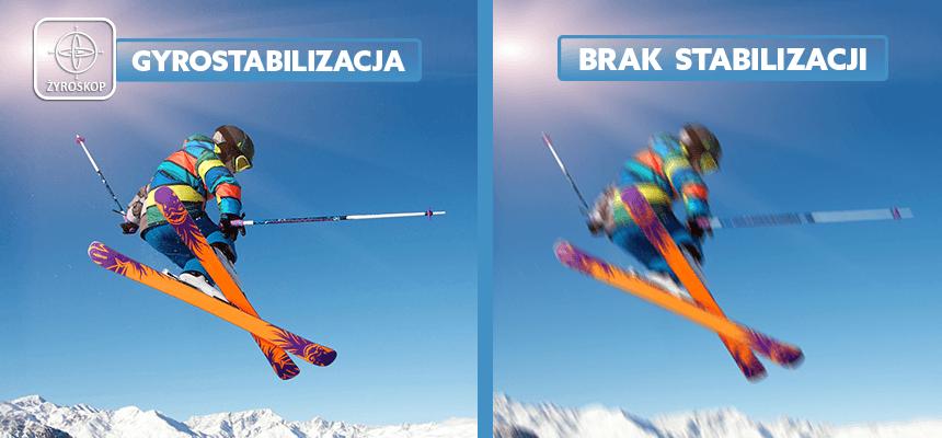 stabilizacja zdjęć w kamerze sportowej - orllo.pl