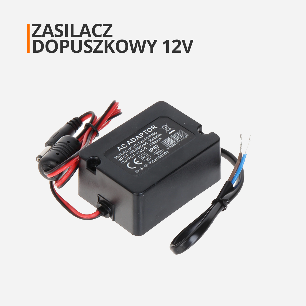 Zasilacz do puszki montażowej orllo.pl