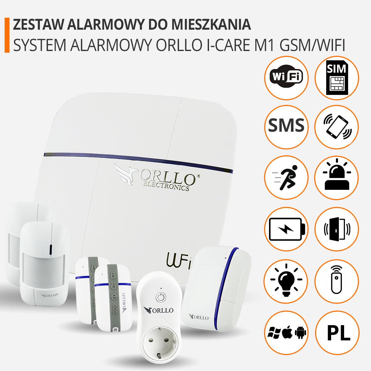 zestaw alarmowy do mieszkania funkcje orllo.pl