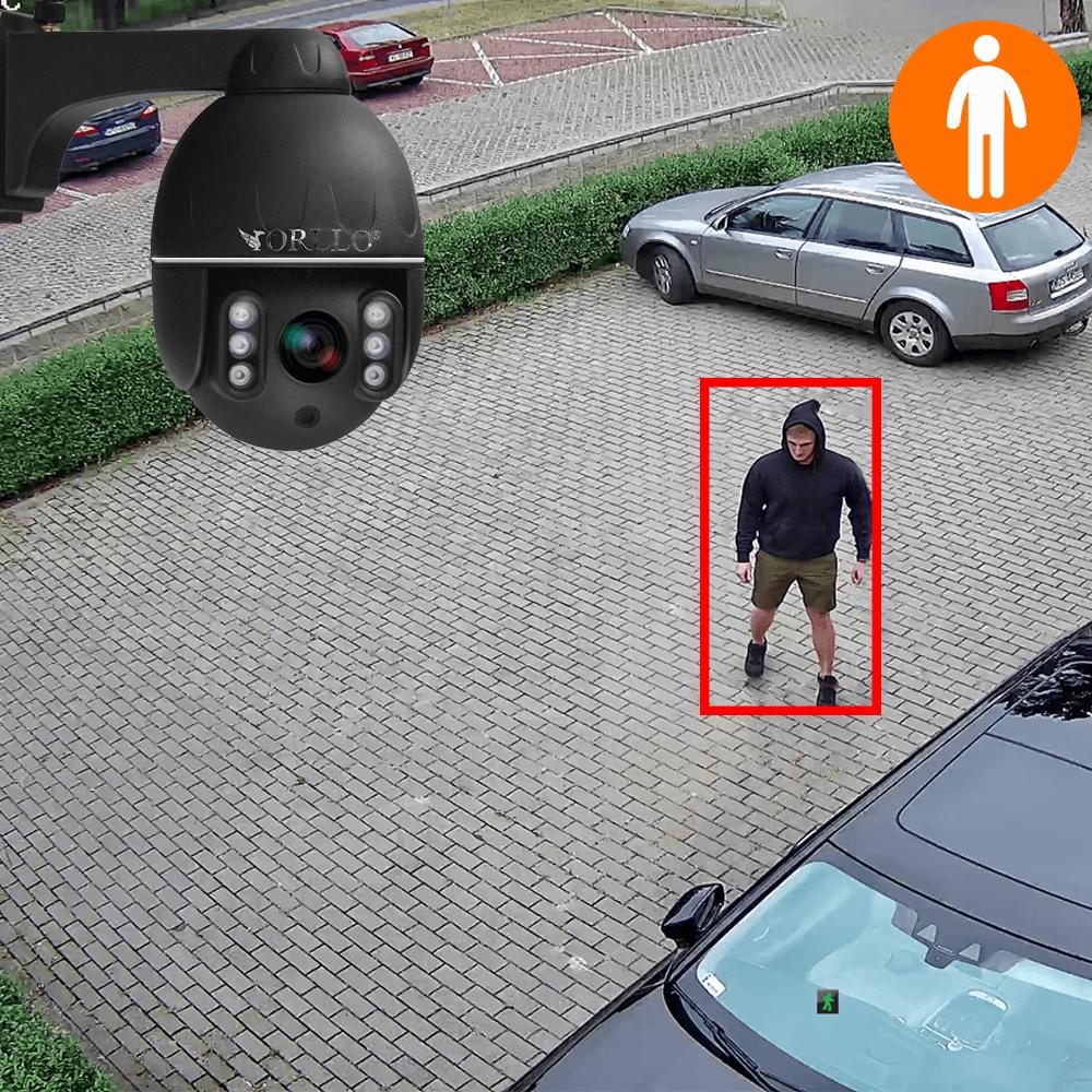 kamera obrotowa do monitoringu wykrywanie ludzi orllo.pl