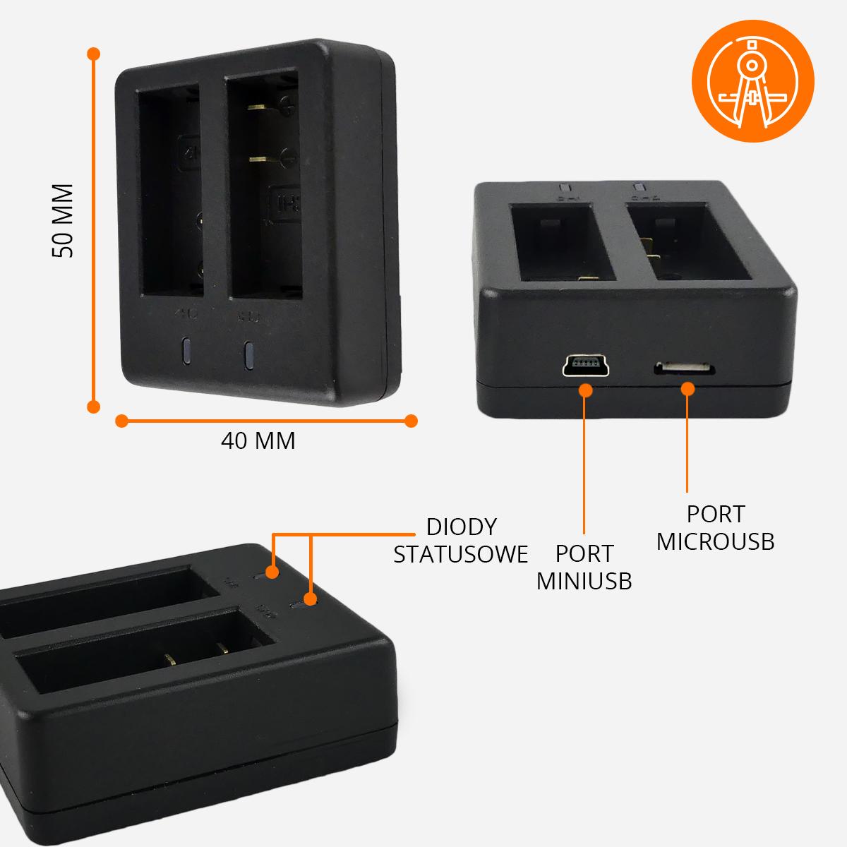 ladowarka-baterii--akcesoria-orllo-xpro-specyfikacja