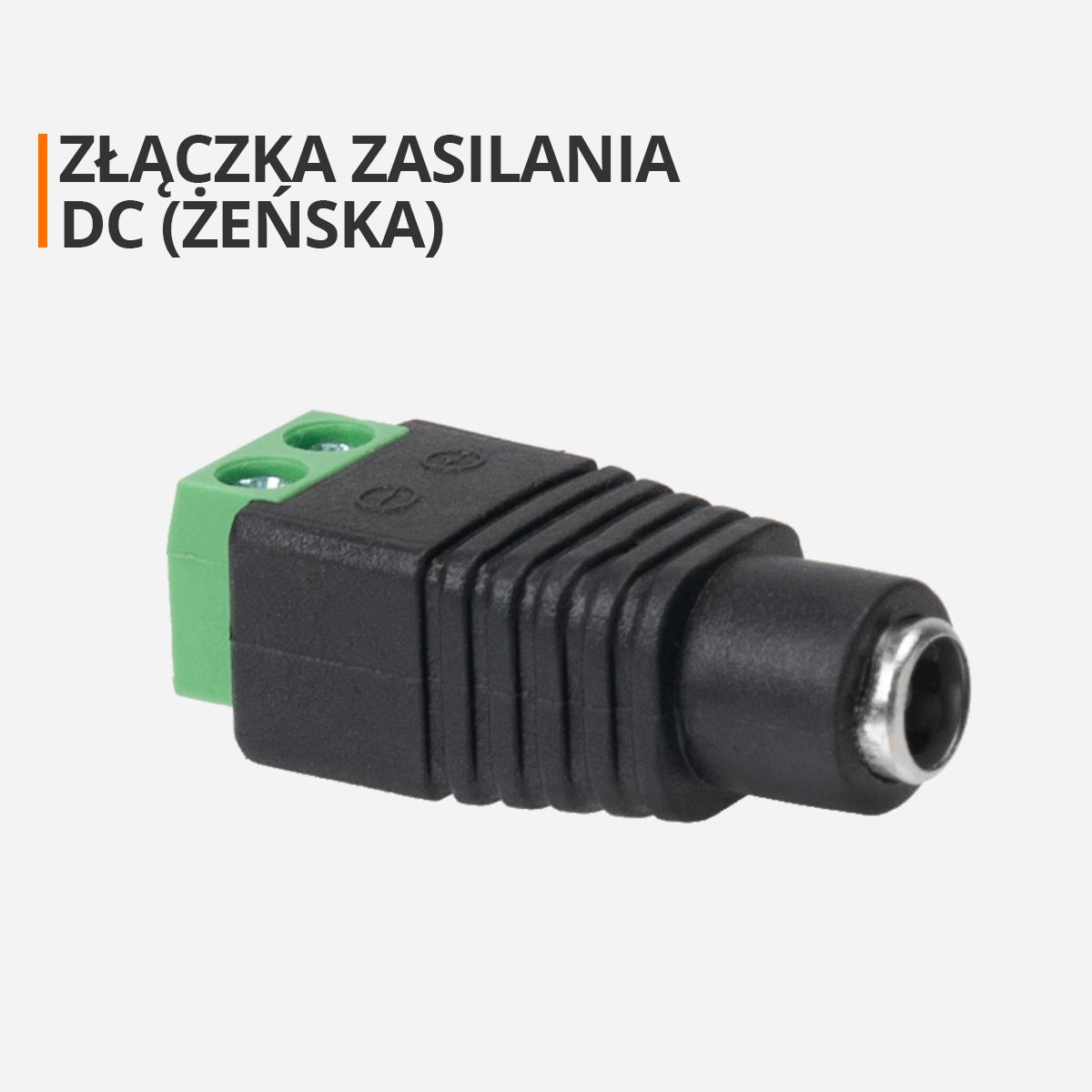złączka DC (żeńska) orllo.pl